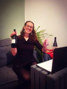 Online Weinverkostung